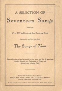 A Selection of Seventeen Songs (1908)