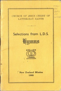 Selections from L.D.S. Hymns (New Zealand Mission)