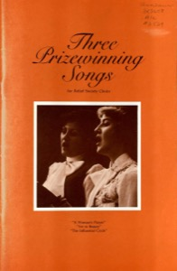 Three Prizewinning Songs (1977)