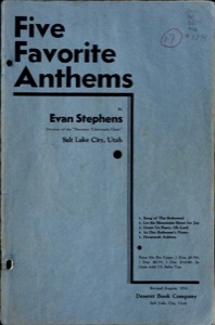 Five Favorite Anthems (1910)