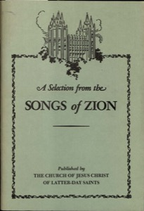 A Selection from the Songs of Zion (1978)