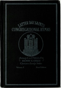 Latter-Day Saints Congregational Hymns, Volume 1 (1919)