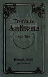 Temple Anthems, Volume 2 (1918)