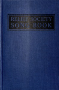 Relief Society Song Book