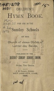 Children's Sunday School Hymn Book