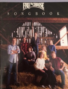 Free to Choose (Songbook) (1987)