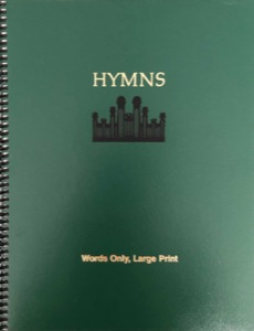 Hymns (Words Only, Large Print) (2005)