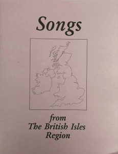Songs from the British Isles Region (RLDS) (1996)